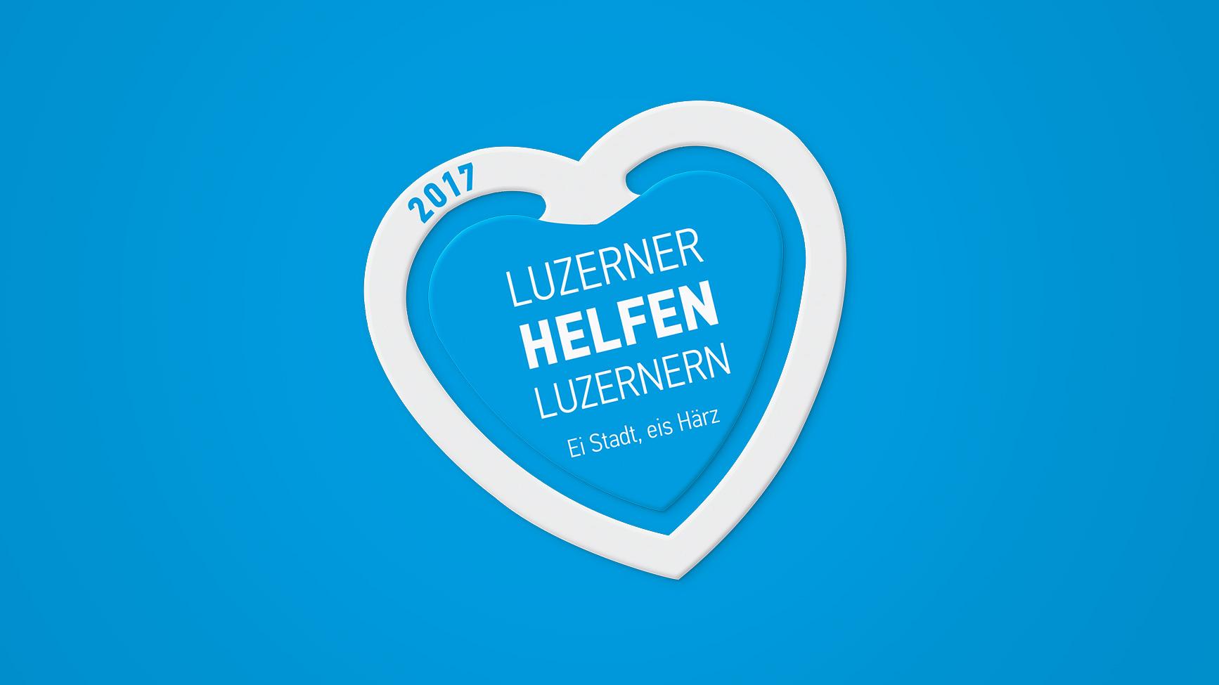 Luzerner Fest – Festabzeichen Design 2017